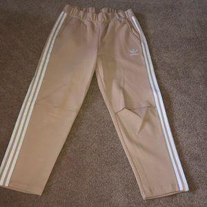 Adidas knee slit joggers